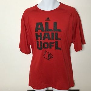 Adidas Climalite University of Louisville T-Shirt